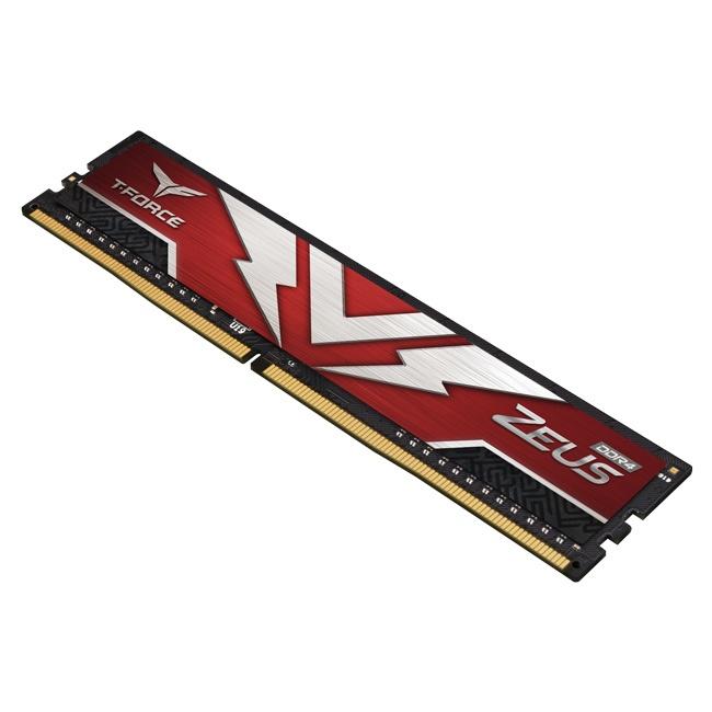 Cyberpuerta: Memoria RAM Team Group T-FORCE ZEUS Red DDR4, 3200MHz, 8GB