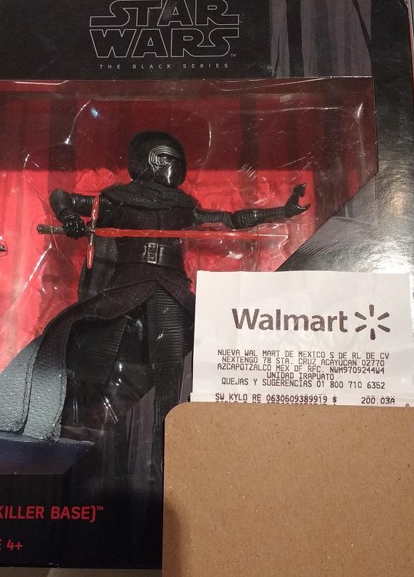 Walmart Irapuato: Kylo Ren (Starkiller Base) a $200.03
