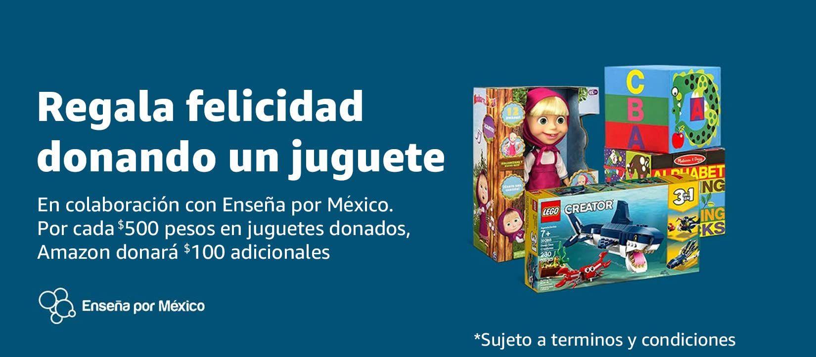Amazon: Reyes Magos [Donación de Juguetes: Enseña por México]