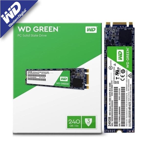 Cyberpuerta: SSD Western Digital WD Green, 240GB, SATA III, M.2