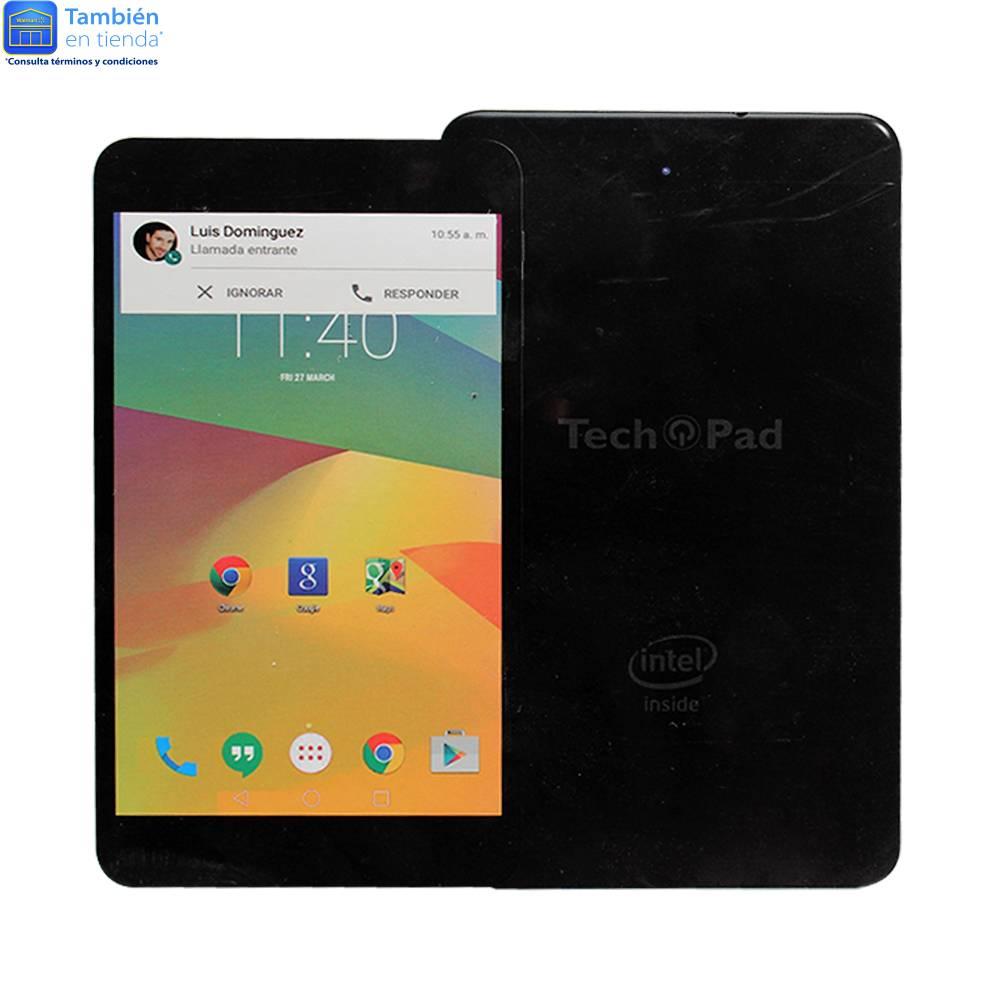 Walmart en línea: Phablet TechPad 3G Negra 16 GB