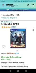 Amazon: Resident Evil 2 Remake ps4