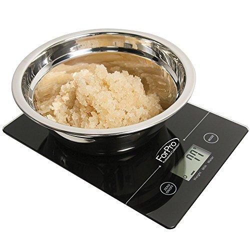 Amazon: Bascula digital de cocina multifunción 11lb/5kg