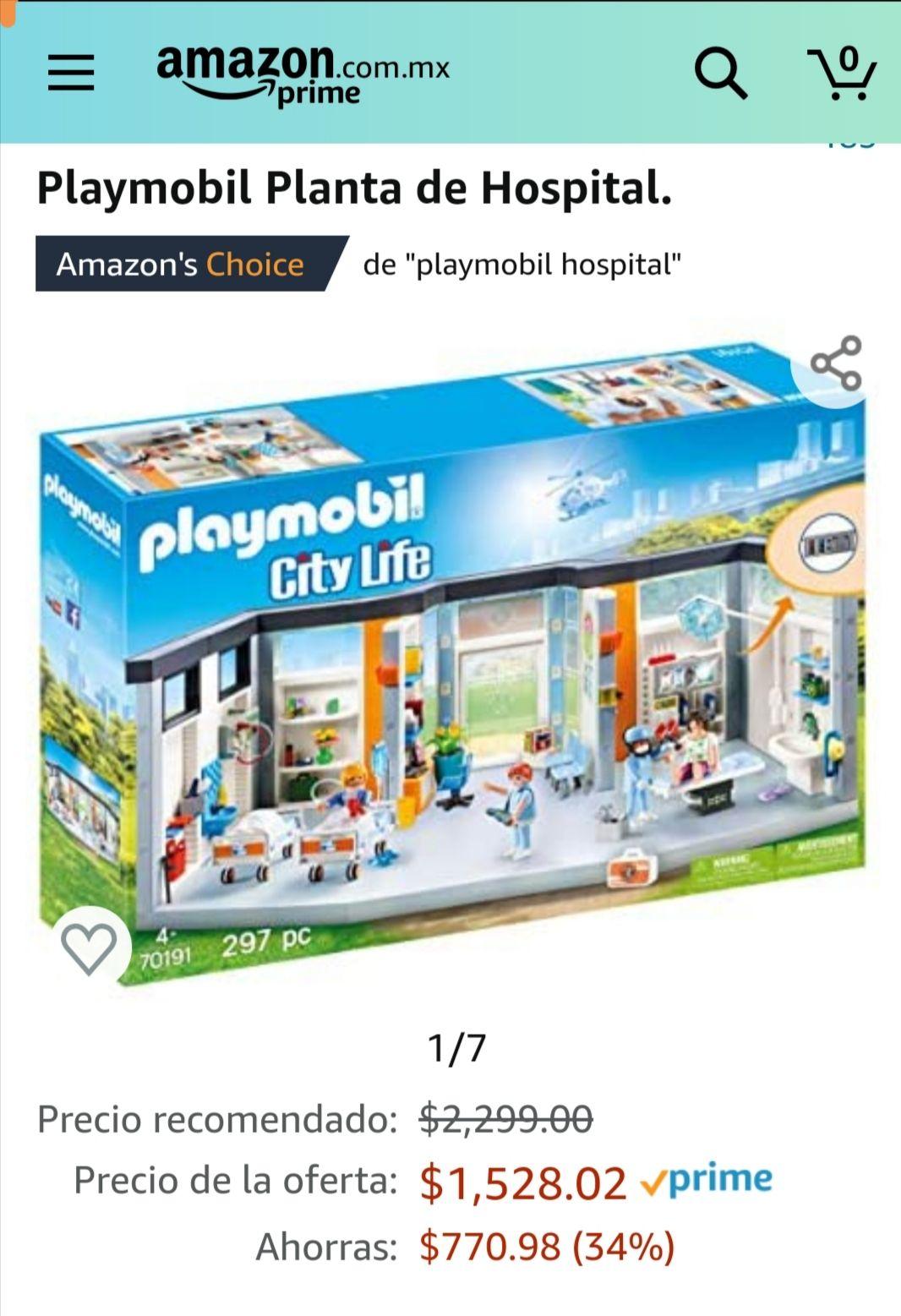 Amazon: Playmobil 70191 Planta de Hospital
