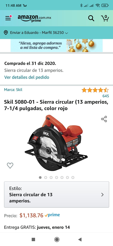 Amazon, Sierra circular Skill