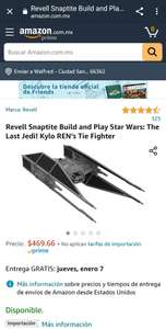 Amazon: Revell Snaptite Build and Play Star Wars: The Last Jedi! Kylo REN's Tie Fighter