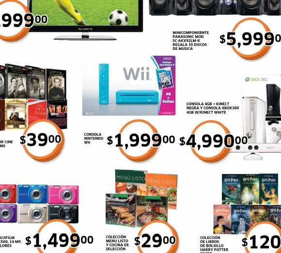 Folleto Soriana agosto 24: Wii con Just Dance 3 $1,990, 30% de descuento en jeans para dama y más