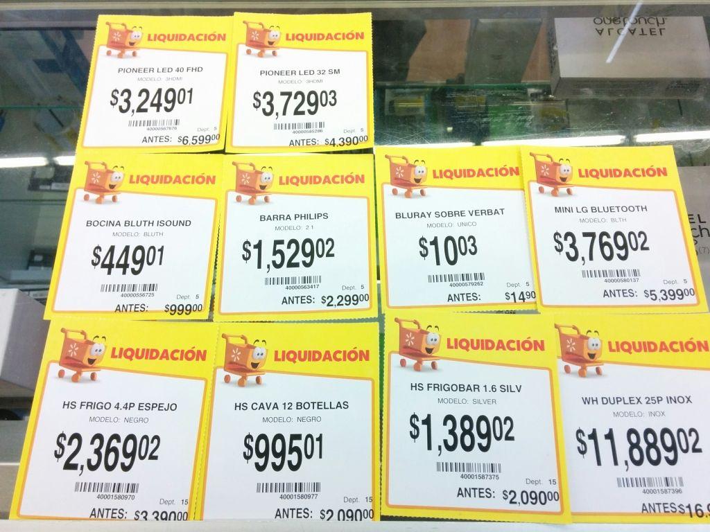 Walmart La Cima: liquidación de varias TV, línea blanca y más