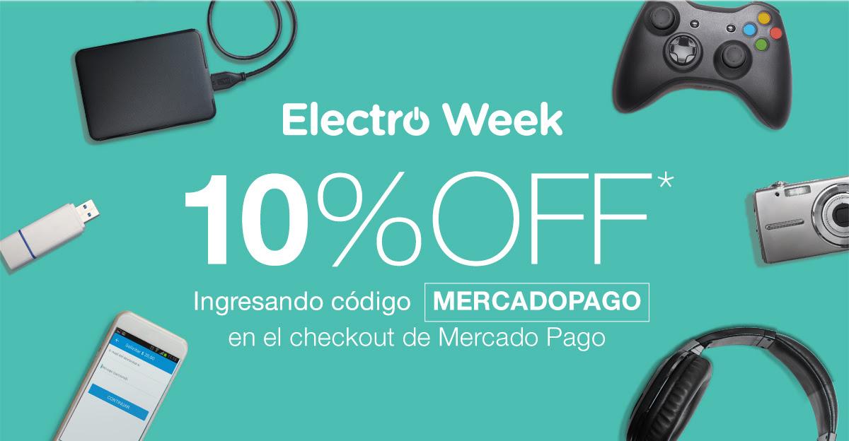 Mercado Pago: 10 % OFF ingresando código MERCADOPAGO (Varias tiendas en línea)