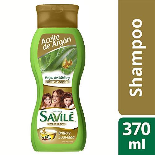 Amazon: SAVILE Shampoo Pulpa de Sabila y Aceite Argan 370ml