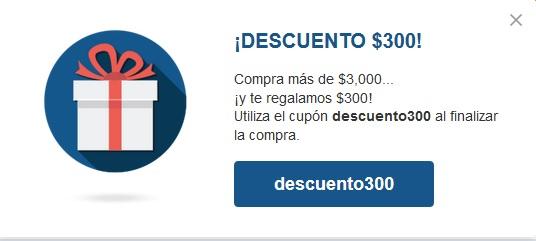 Outlet Mabe: Cupón de $300 al comprar $3000 o más