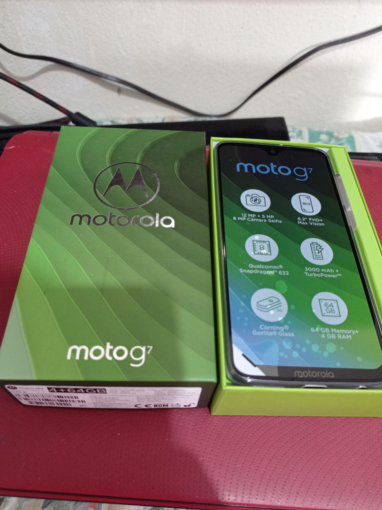 Chedraui: Motorola G7 4Gb/64Gb