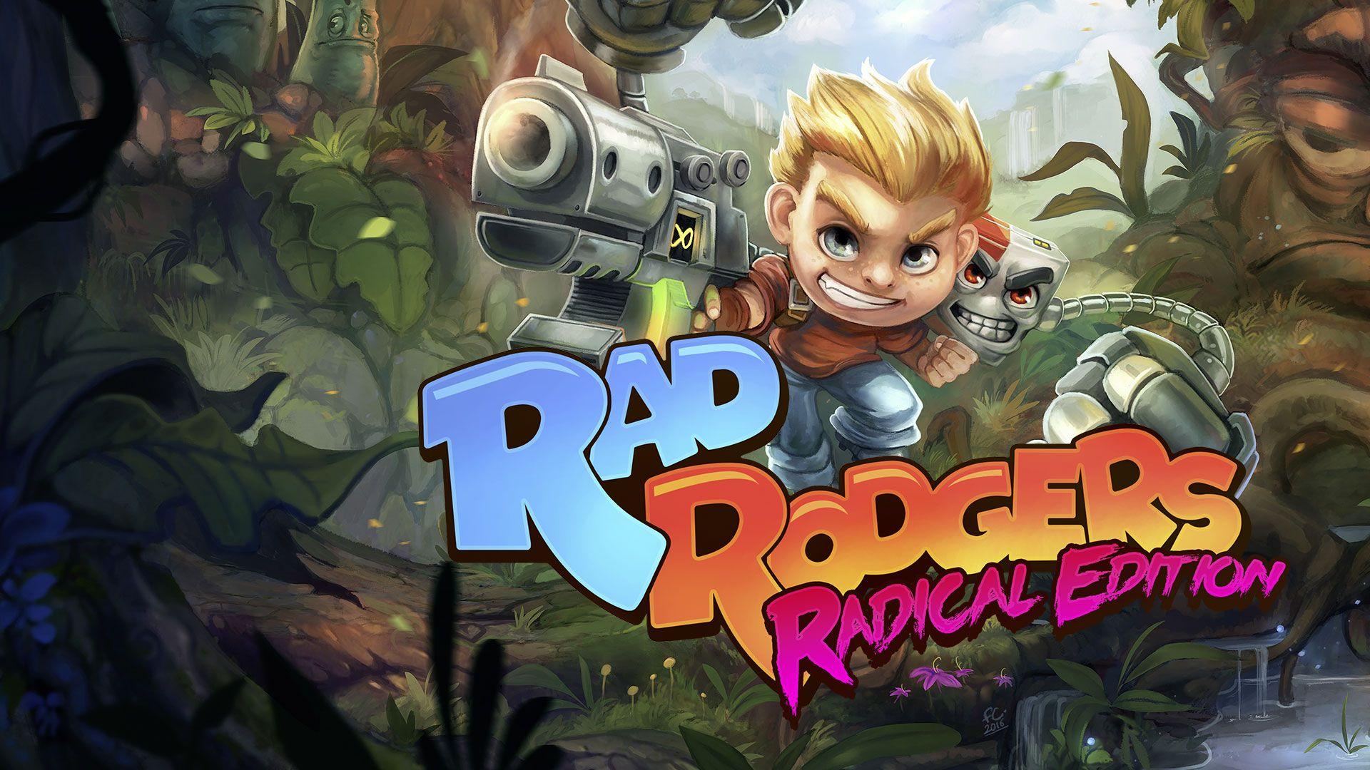 Nintendo eShop: Rad Rodgers Radical Edition (EShop)