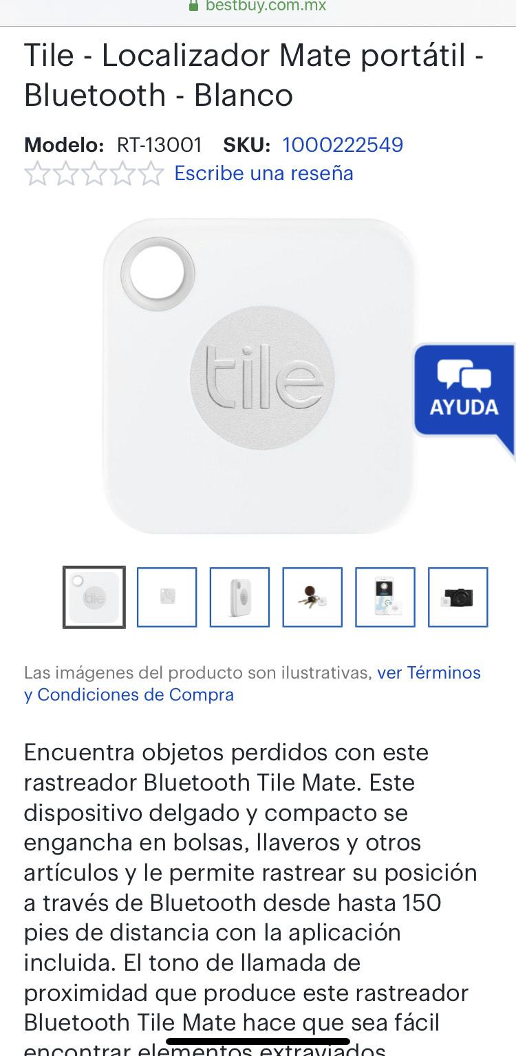 Best Buy: Dispositivo rastreador Tile $202