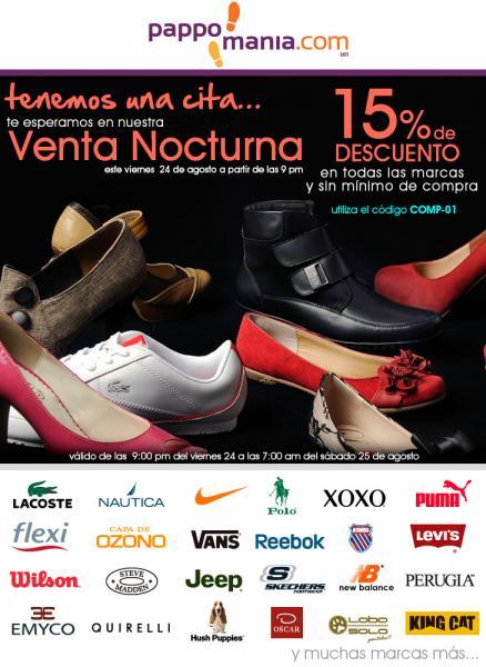 Venta Nocturna Pappomania.com