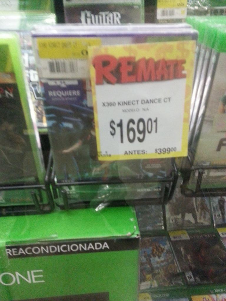Bodega Aurrerá Abastos Culiacán Sinaloa: Dance Kinect para  Xbo 360 a $169.01