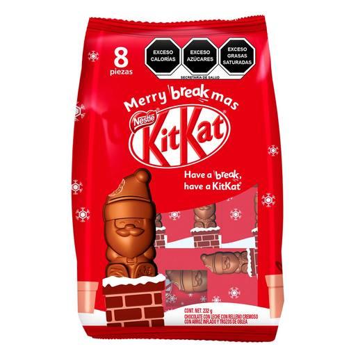 WALMART- Kit Kat Santa Claus 8 pzs