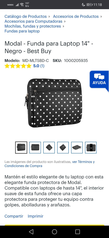 "Best Buy: Funda para Laptop 14"""
