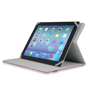 "Amazon: V7 Universal Case and Multi Angle Stand for 9"" - 10.1"" Android Tablet PCs and iPad Air 1 / 2, iPad 1 / 2 / 3 / 4"
