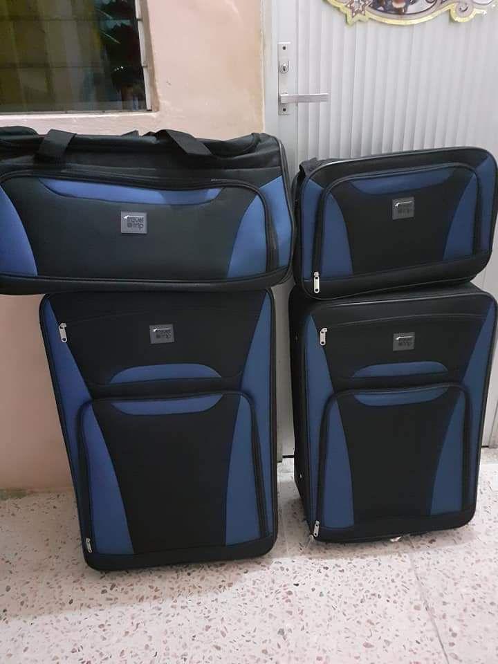 Chedraui: Juego de 4 maletas a excelente precio