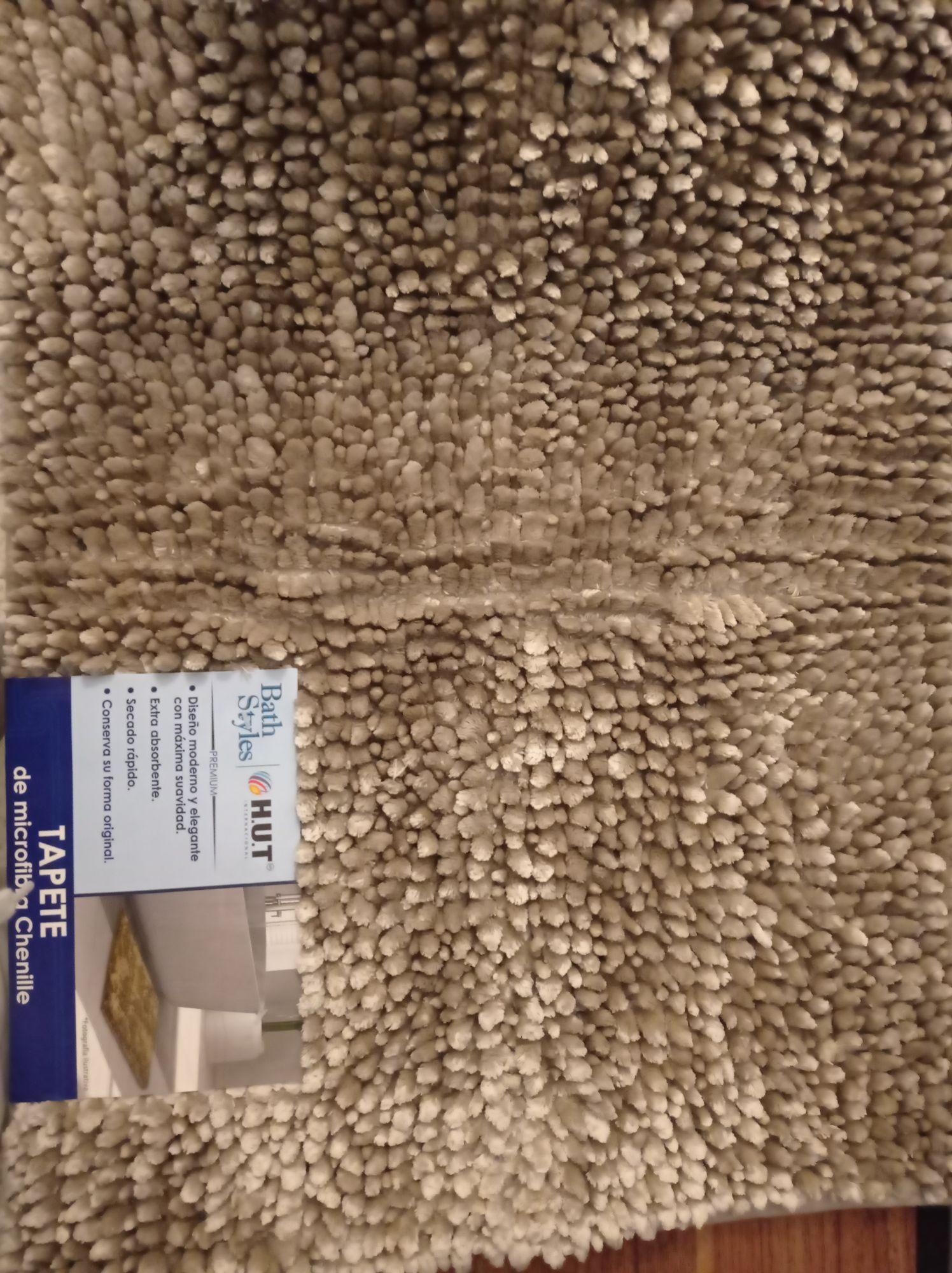 Walmart Tapete HUT de microfibra chenille
