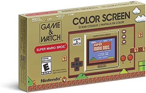 Amazon, Walmart y Aurrera: Consola Portátil Nintendo Game & Watch: Super Mario Bros