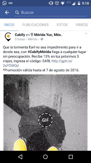 Cabify Mérida: 15% de descuento en tus siguientes 5 viajes para todos