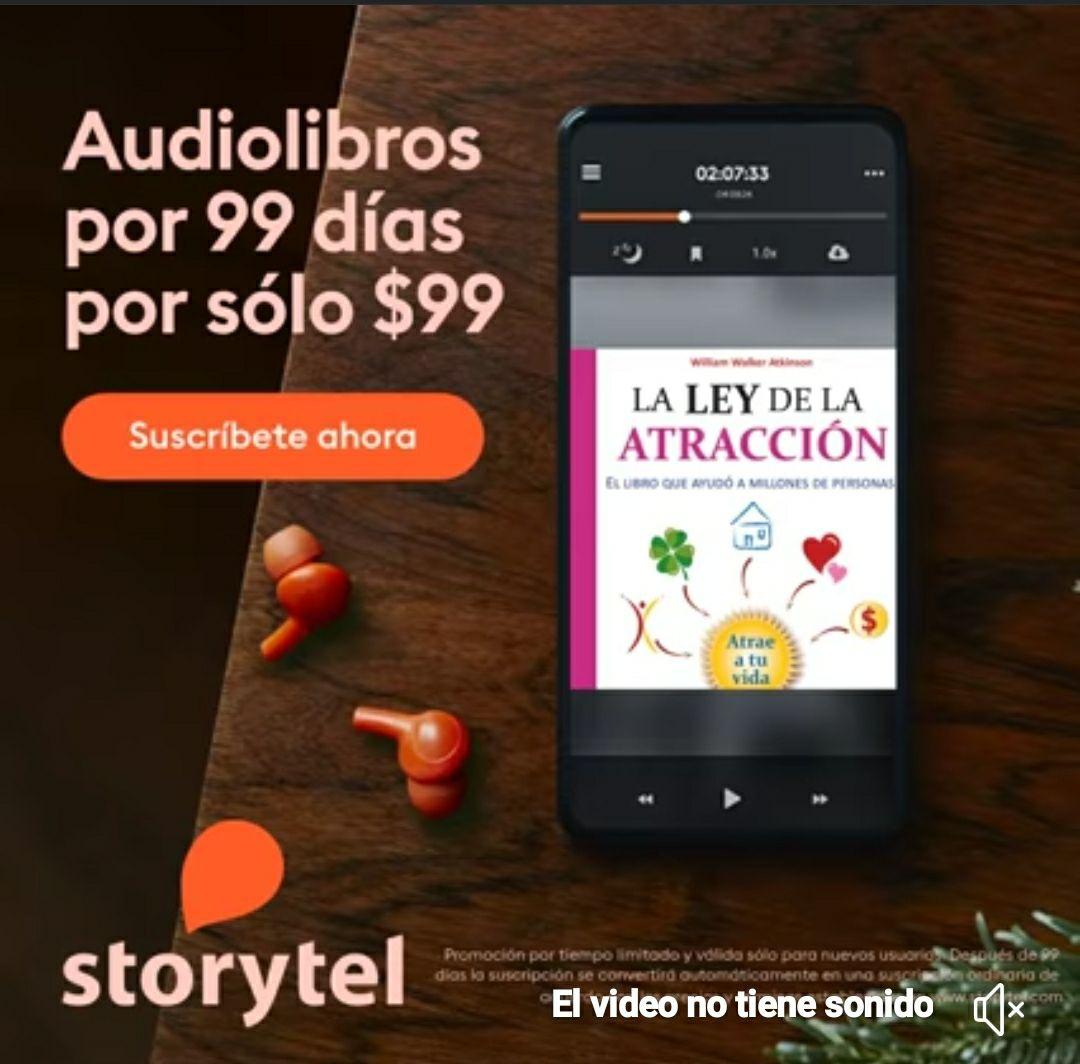 99$ = 99 días - Storytel Unlimited
