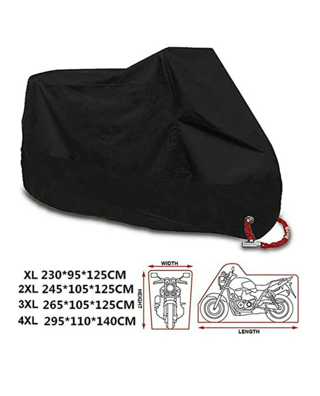 Amazon: Cubierta para motocicleta