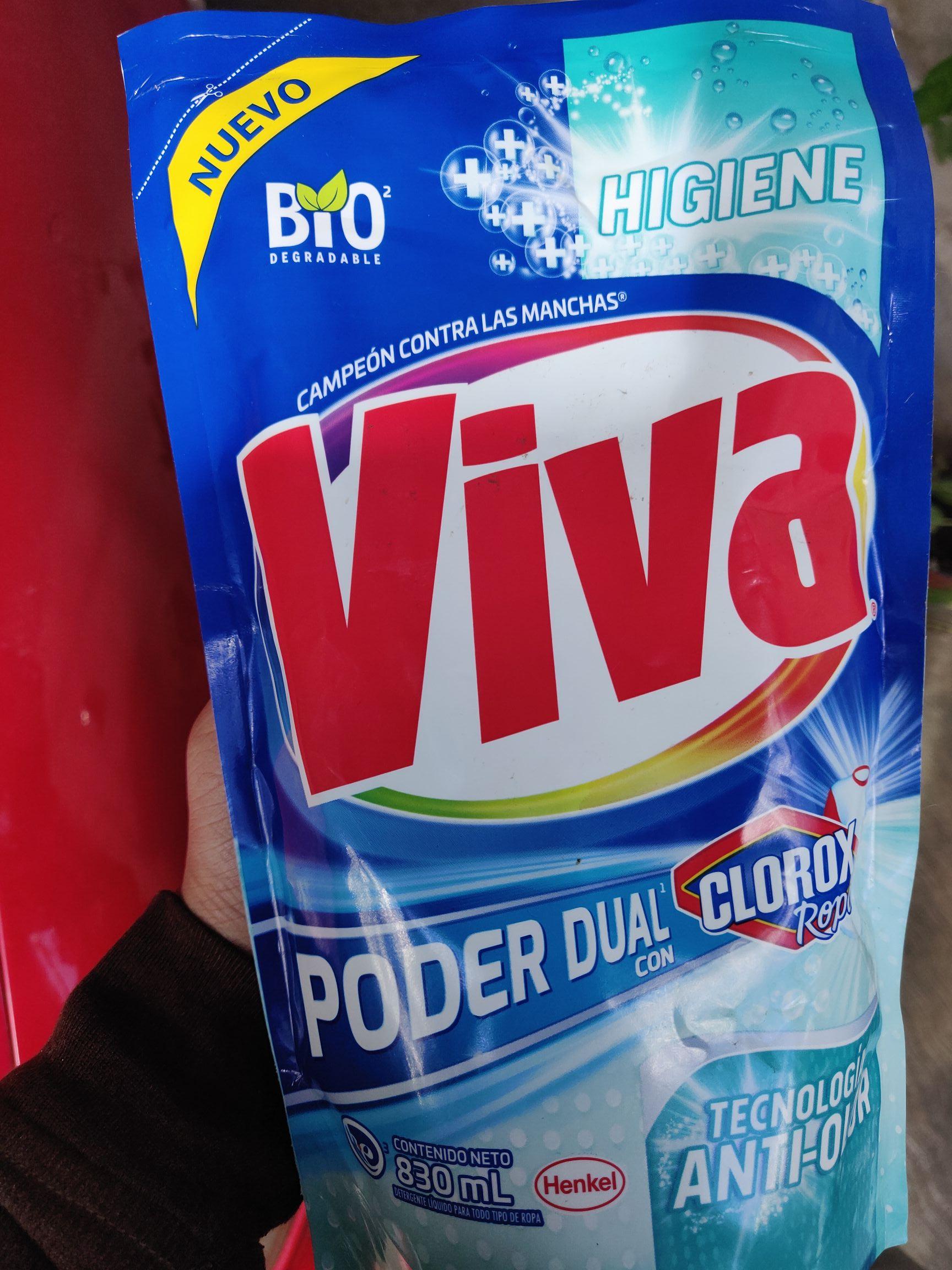 Chedraui: Detergente Viva Higiene 830ml
