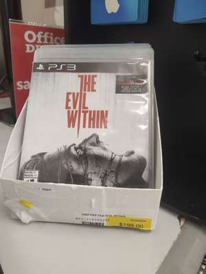 Office Depot: The evil within ps3