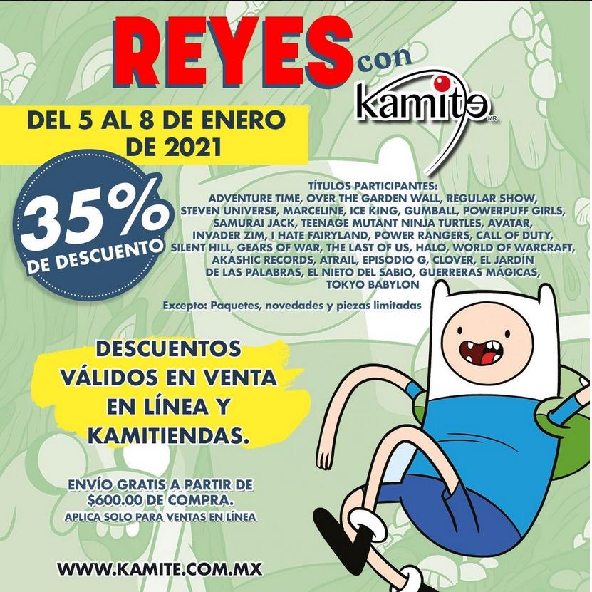 Kamite en línea y física: 35% de Descuento del 5 al 8 enero