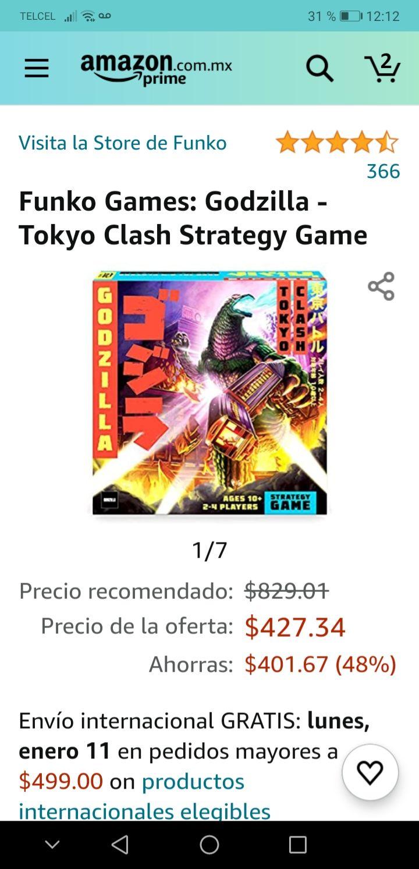 Amazon: Godzilla Tokyo Clash strategy game