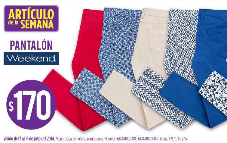 Artículo de la semana Suburbia: pantalón $170