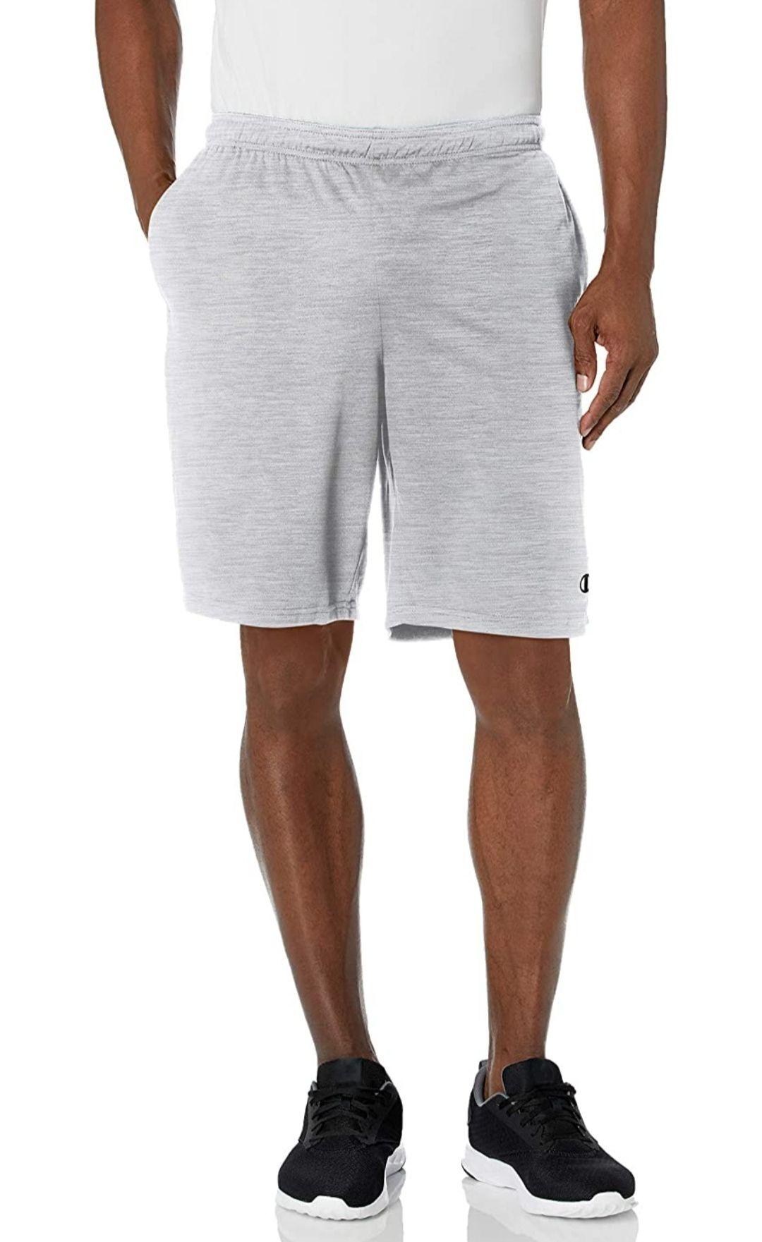 Amazon: Short champion gris S, L, XL, 2x