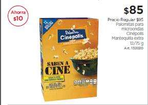 Sam's Club: Pack de 12 palomitas Cinépolis, con premio