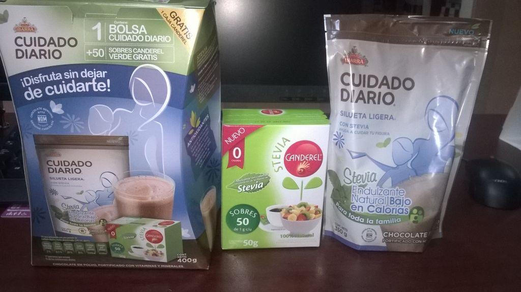 Chedraui: paquete de Chocolate Ibarra más 50 sobres de Canderel de Stevia a $22.80