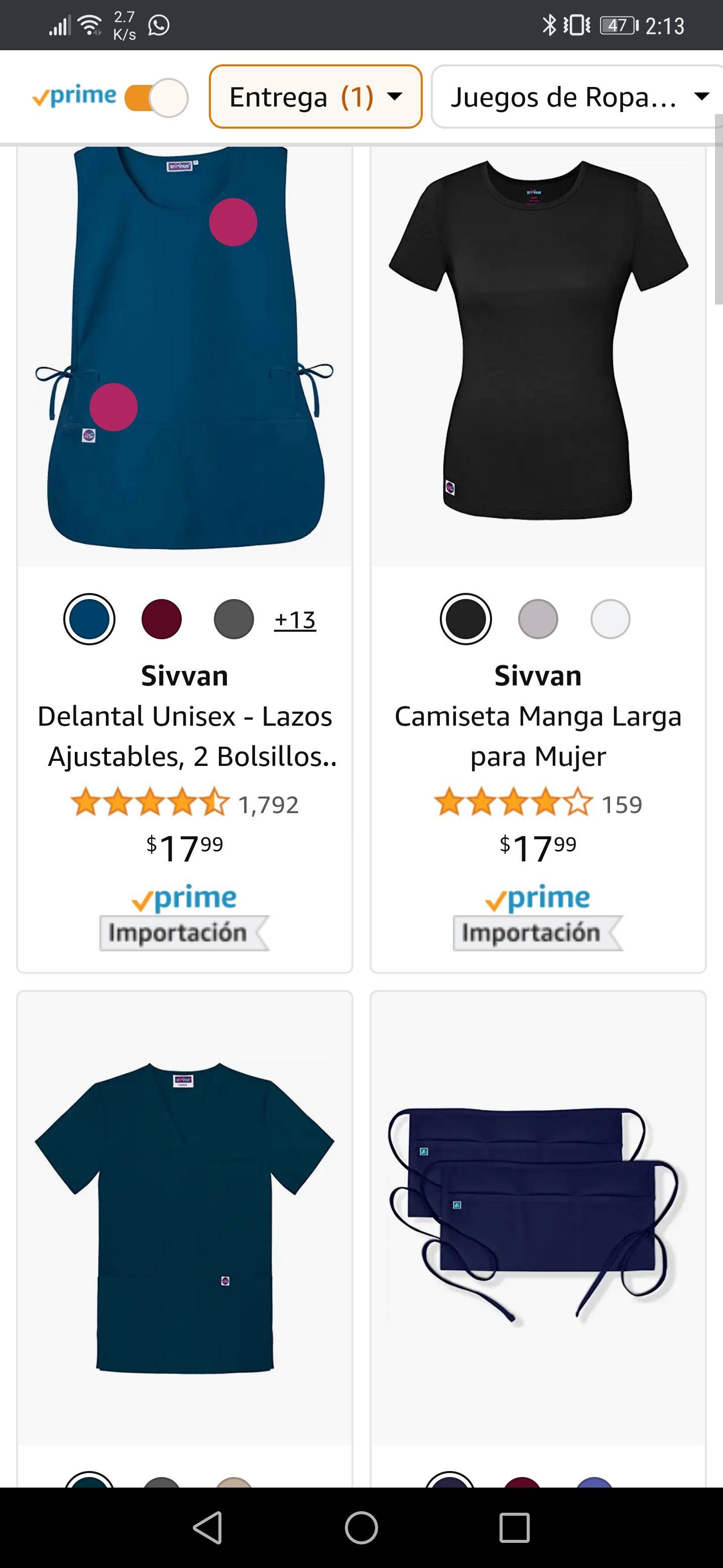 Amazon remate marca Sivvan material para médicos