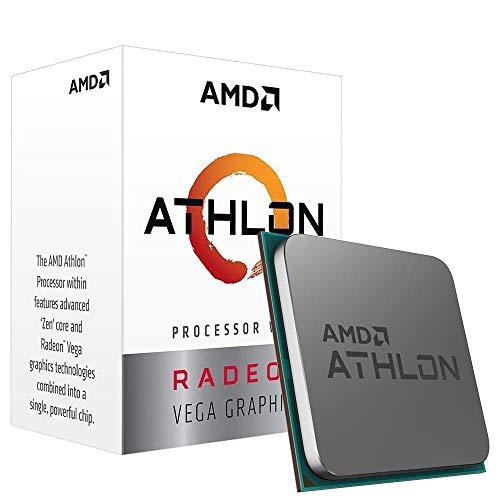 Amazon: Procesador Athlon 3000G, 3.5GHz 4Mb Cache 2-Core/4-Thread Socket AM4 Gráficos Radeon Vega 3