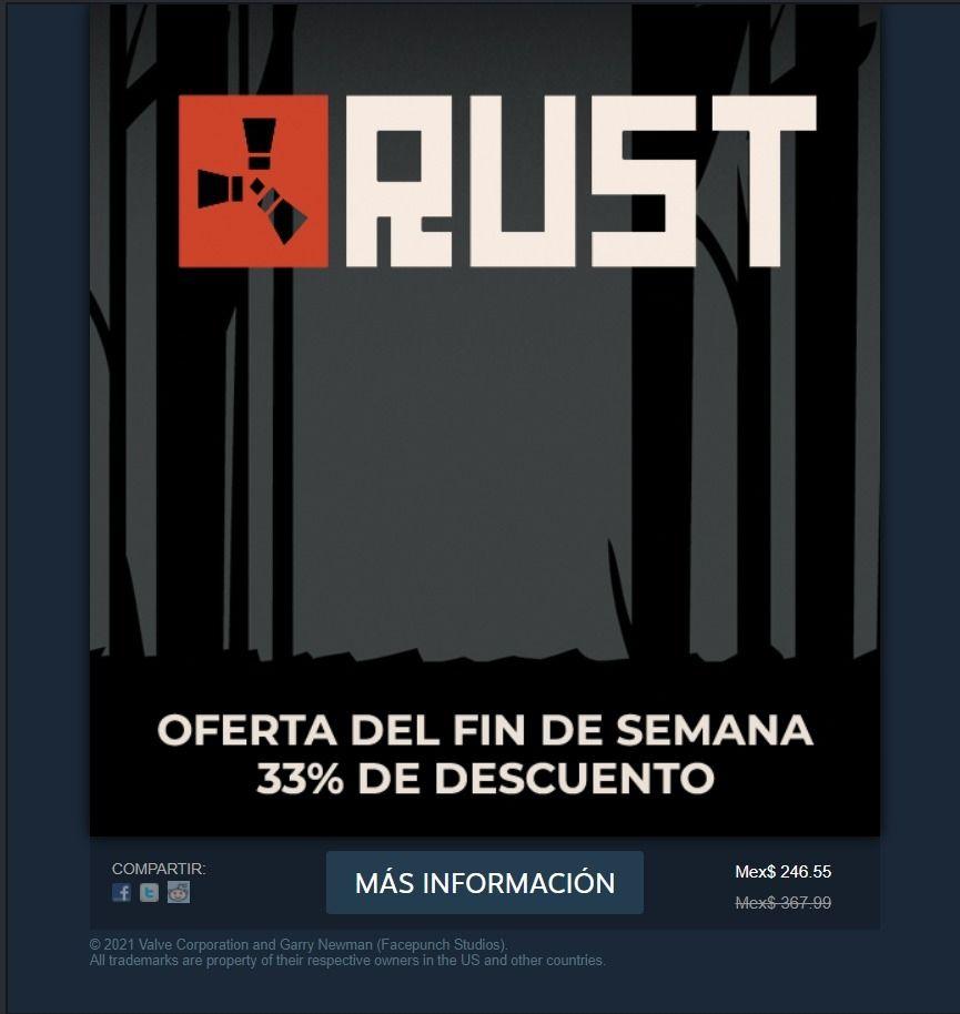 Rust en Steam
