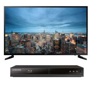 "Sanborns en línea: Pantalla Samsung 48"" 4K Smart TV  + Reproductor Bluray"