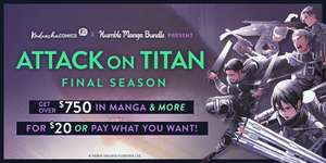 Humble Manga Bundle: Attack on Titan Final Season by Kodansha