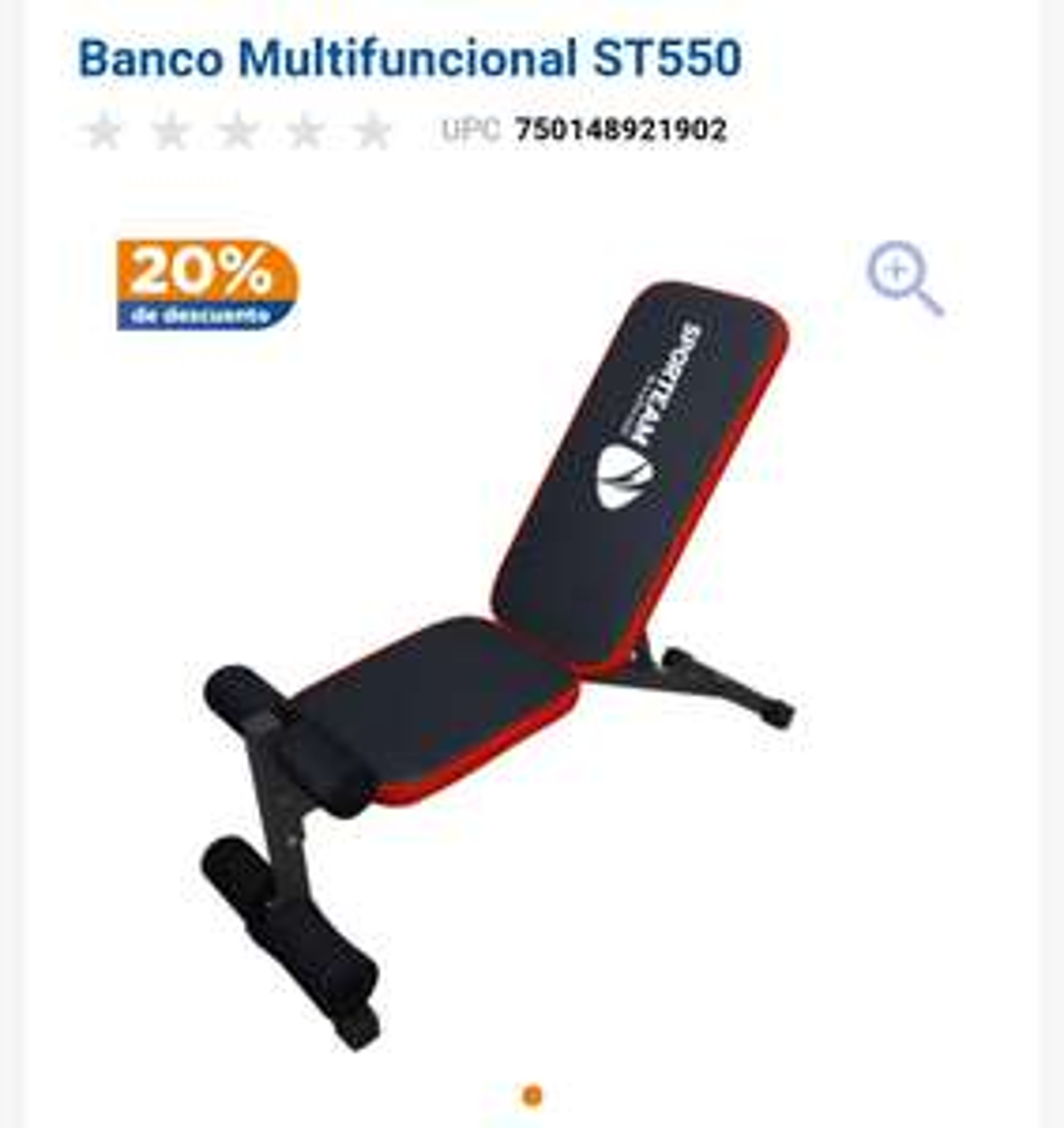 Chedraui: Banco Multifuncional ST550