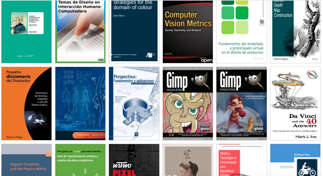 OpenLibra: 98 Libros de Diseño (3D-Dibujo-Visual-Animación-Gráfico y más) descarga gratuita