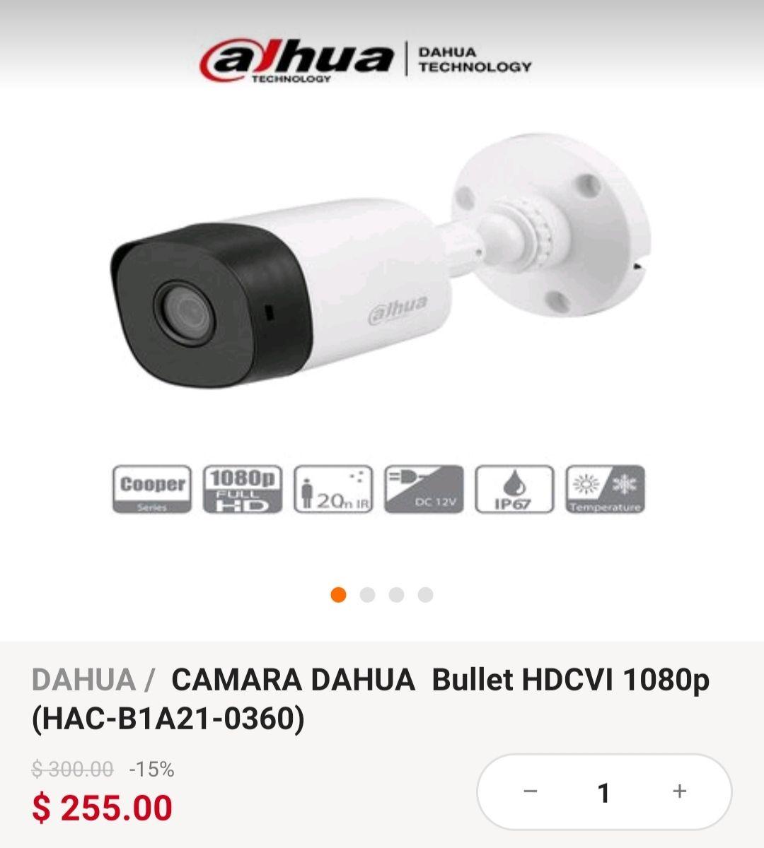 Linio: Camara Dahua 1080p