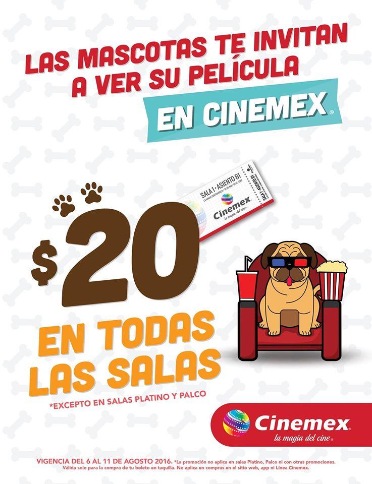 Cinemex: La Vida Secreta de tus Mascotas todas las salas a $20