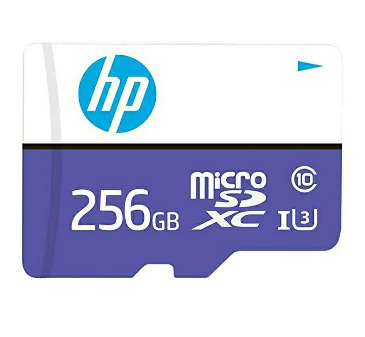 Amazon: Tarjeta Micro SD 256 gb Clase 10 U3 HP
