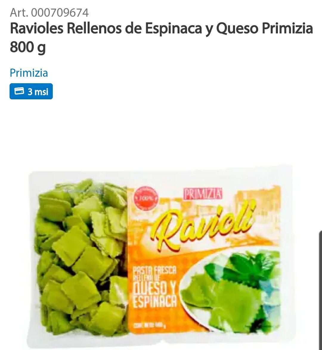 SAMS CLUB - Ravioles de Espinaca
