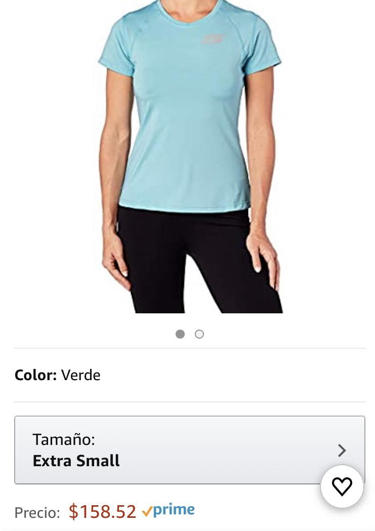 Amazon: Playera Skechers mujer extra chica