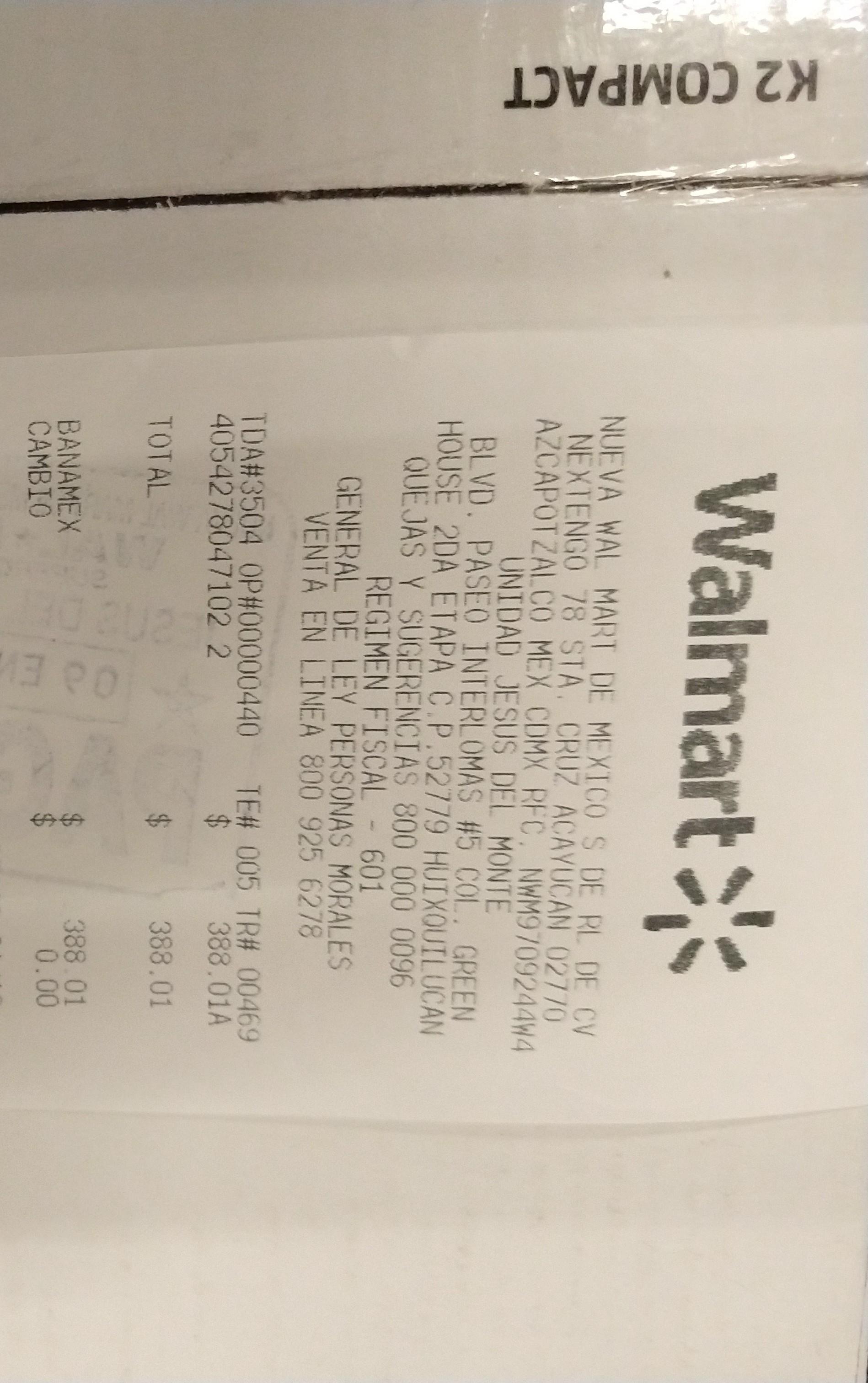 Walmart: Karcher K2 compact promoverla con final feliz